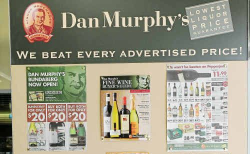 Dan Murphy's promises to beat the competition.