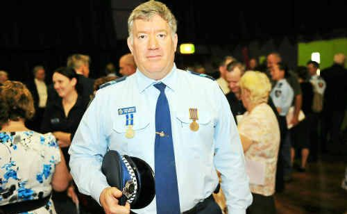 Snr Const Ron Mientjes received the 1st Clasp and the Queensland Police Service Medal.