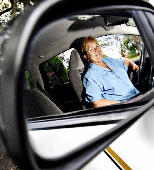 Linda Foster of Casino Cabs won the first runner-up award in the NSW Country Taxi Driver of the Year category.