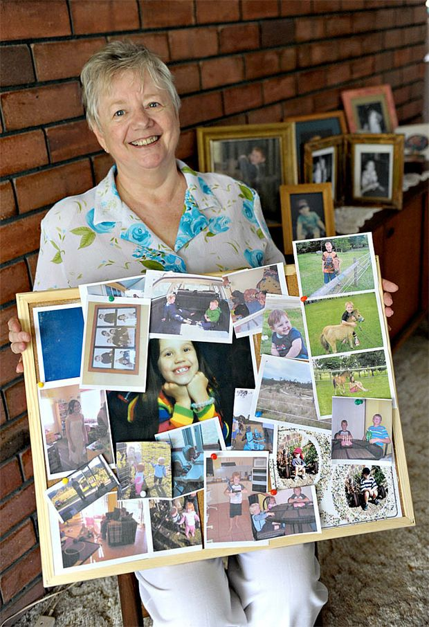 Chris Wilford, of Maroochydore, is a happy grandmother of seven.