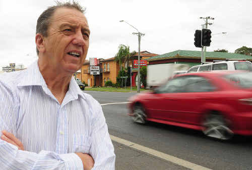 Coffs area resident John Poche wants to reduce the road toll to zero.