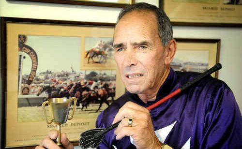 Retired horse trainer Neville Atkins.