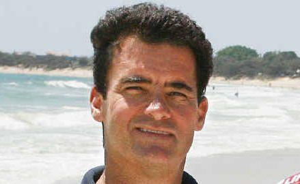 Scott Braby... good work to save 79-year-old man in surf.