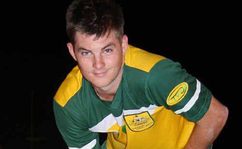 Bevan Hurley led Australia's scoring in the world roller hockey championships in Austria.