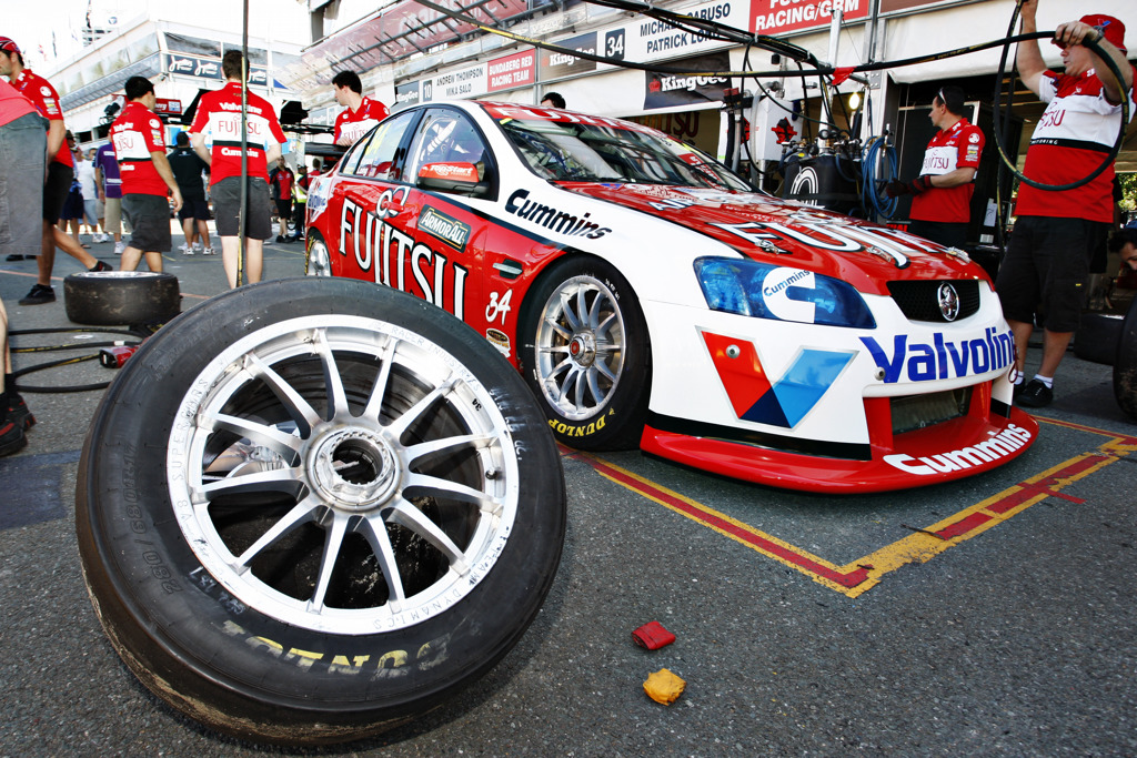 Action from the Armor All Gold Coast 600.