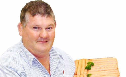 Butcher Gary Richards has felt the effect of increases in electricity charges.