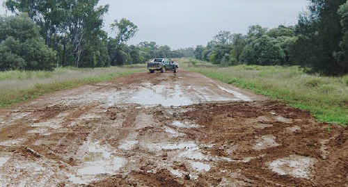 BOGGY: Governments cannot justify upgrading this 39km stretch of gravel road. cont