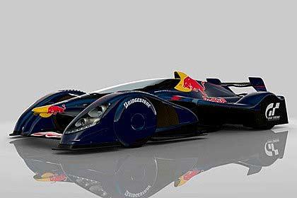 Gran Turismo's new X1 Prototype.