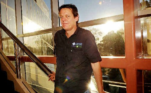 SOLAR SHAKE-UP: Simon Thomas, of Kyogle-based solar installation company Sunsparks, is calling on the Federal Government tointroduce a national feed-in solar power tariff of between 30 and 40 cents a kilowatt-hour.