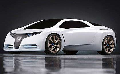 Honda's hydrogen-powered FC Sport concept could indicate motoring's future.