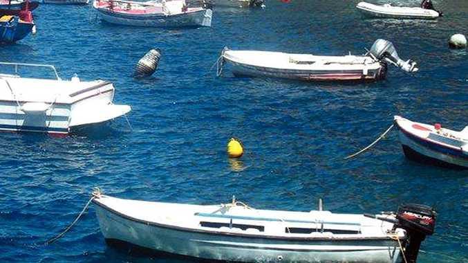 The Greek island of Tinos.