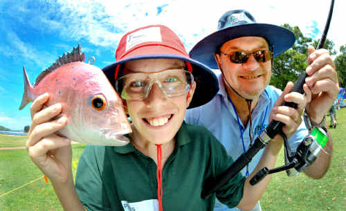 Lure the kids to an angling pastime
