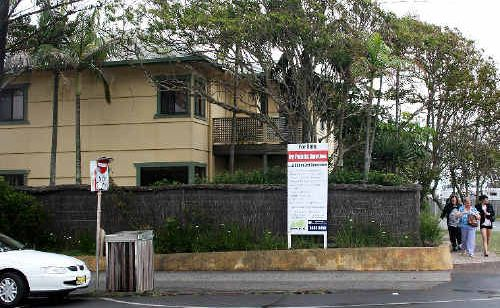 This Byron Bay beachfront commercial site will go to auction next month.