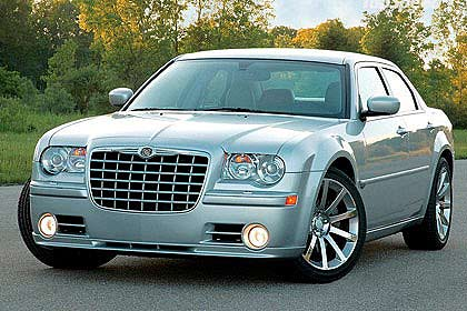 The 300C might take on Falcon and Commodore in the V8 Supercars.