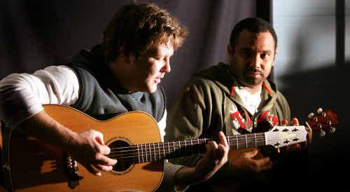 Tom Busby and Jeremy Marou.