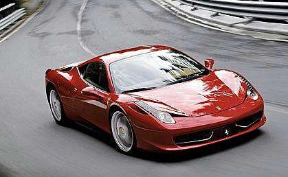 Ferrari Italia 458.