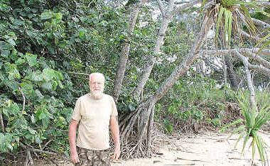 John Eggleston wants the council to plant beach hibiscus.