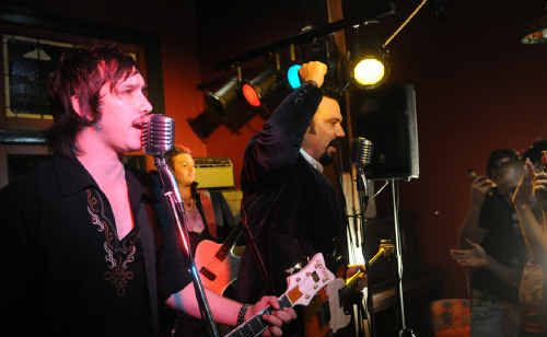 Duke Wilde have filmed their second video clip at the Freemasons' rustic Irish Bar.