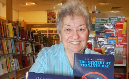Mackay great-grandmother Betty Thomson has proven you're never too old to fulfil your dreams by publishing her first book.