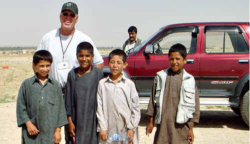 Neil Campbell spent the past five years in Afghanistan overseeing an USAID program, before he was detained.