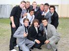 Graduating gang at Sunshine Beach State High School.
