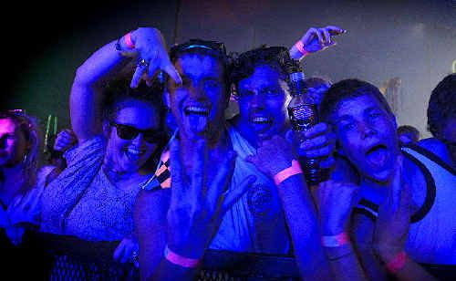 Crowd revellers got into the vibe for this year's That Festival.