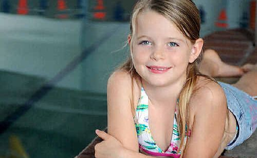 Hervey Bay's Anna Green saved her cousin from drowning using the skills she had learned during swimming lessons at Elders Swim Centre.