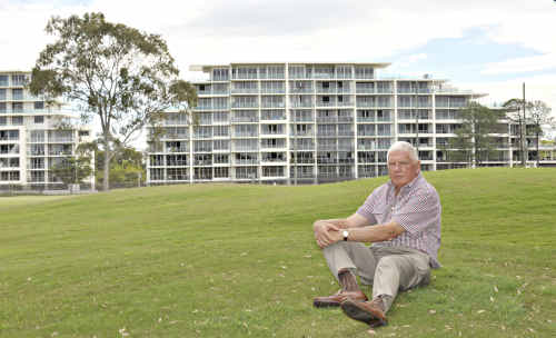 Horton Park Golf Club's Tony Nicholson, who is representing the club in negotiations over its relocation, says it's all about infrastructure costs.