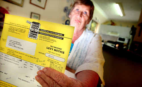 Jude McCauley has begun a process of challenging the levies at the retirement village where she lives.