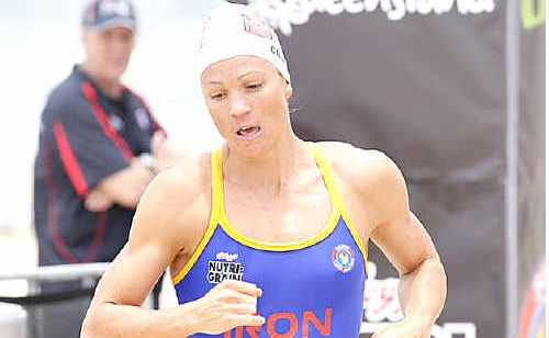 Caloundra's Rebecca Creedy, a former Commonwealth Games swimmer, produced a storming performance to finish fourth.