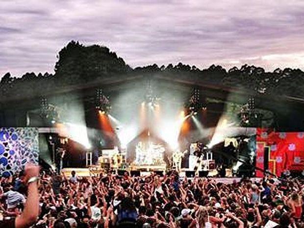 The Falls Festival, Victoria.