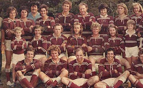 Rainbows reunion organiser Julie Gear is after old photos like this one of the Rainbows 1974 Reserve Grade team who won 18, drew one and lost two games. They won the grand final.