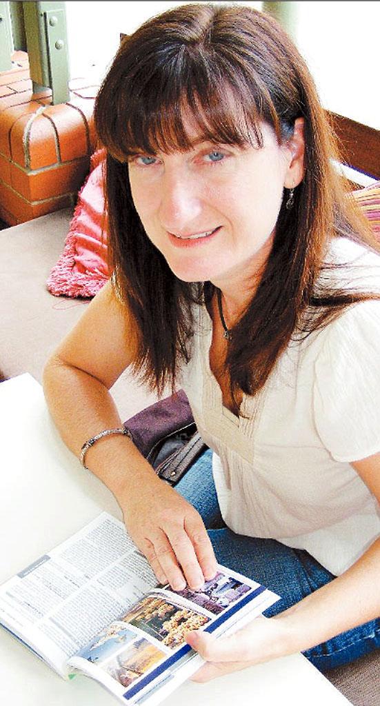 Bangalow travel writer Kim Wildman.