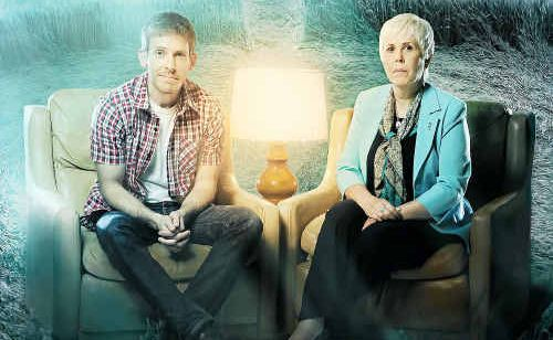 Mary Rodwell and son Chris will feature in an upcoming SBS documentary about UFOs.