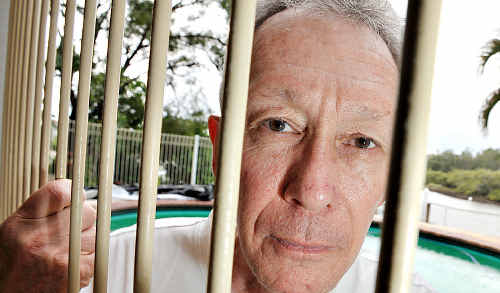 Chris Fletcher is very annoyed by the imminent change to pool fencing rules.