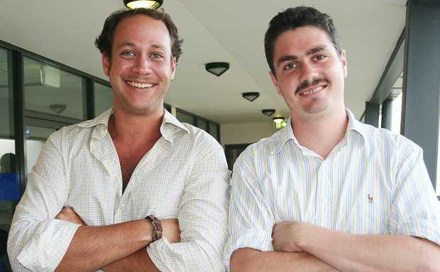 Whitsunday Times mo bros Sam Beattie and James Tolmie.