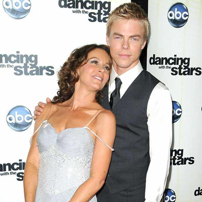 Jennifer Grey and her Dancing with the Stars partner Derek Hough.