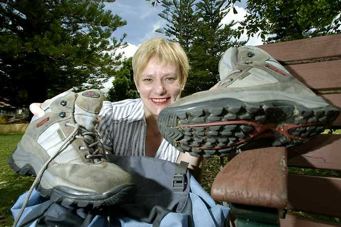 Dalby woman Jenepher Hintz will walk across the Simpson Desert to raise money and awareness for Youngcare.