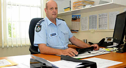 Gympie Police Acting Superintendent Ron Van Saane said the latest crime statistics looked good for Gympie officers.
