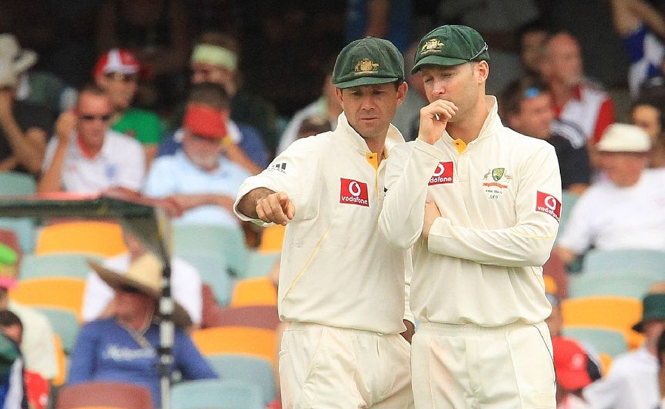 Ricky Ponting and Michael Clarke.