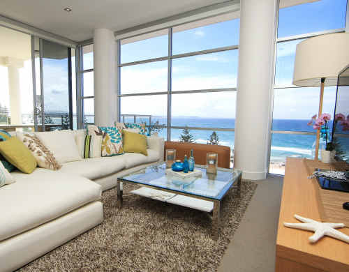Luxury abode: The BoysTown $2.5 million prize home in Rainbow Bay.