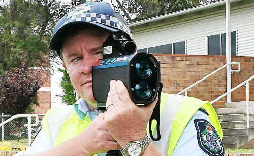 Stanthorpe Police Sergeant Dan O'Dea