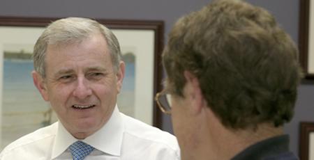 Federal Minister Simon Crean will visit Toowoomba tomorrow.