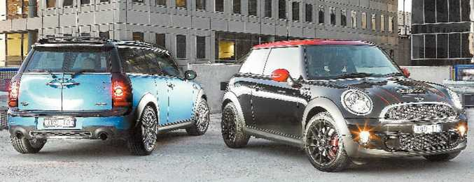 The new Mini range has subtle styling changes inside and out.