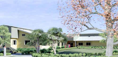 An artist's impression of the new Mt Morgan hospital.