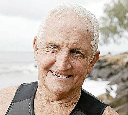 Wave of success: Bob McTavish will launch his book Stoked! in Grafton today.