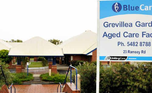 A nurse who stole money off an elderly patient at Grevillea Gardens Nursing Home said he used the money to pay for cigarettes.