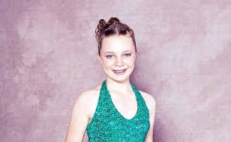 12-year-old Ebony Wickham will take to the Carols in the Park stage this year for the first time.