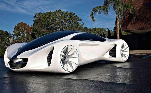 The Mercedes-Benz Biome concept car.