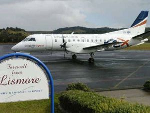 Rex airlines still vital to Lismore, says Thomas George